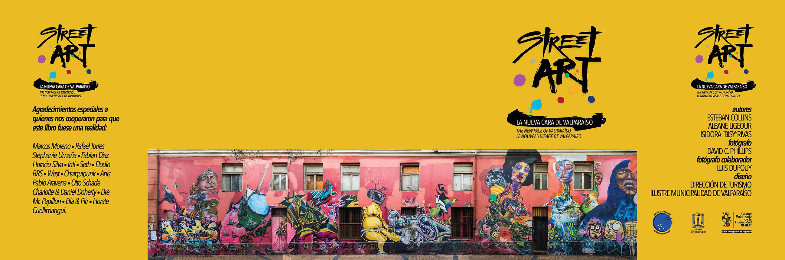 Street Art La Nueva Cara de Valparaiso book cover